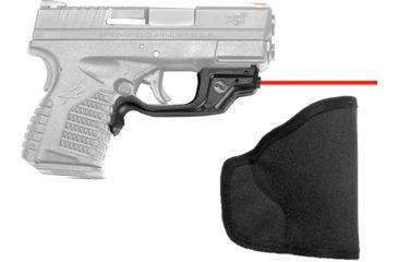 Crimson Trace LaserGuard Laser Sight for Springfield XD-S